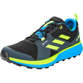 adidas TERREX Two Gore-Tex Chaussures de trail Homme, core black/signal green/brblue